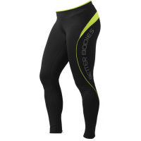 Лосины Better Bodies Fitness Long Tight, Lime